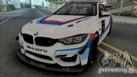 BMW M4 GT4 для GTA San Andreas