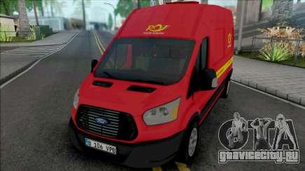 Ford Transit 2018 Posta Romana для GTA San Andreas