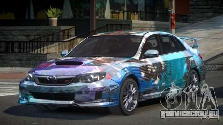 Subaru Impreza GST-R S5 для GTA 4