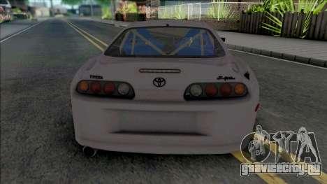 Toyota Supra 1998 SpeedHunters для GTA San Andreas