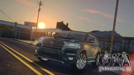 Toyota Land Cruiser 200 HQ для GTA San Andreas