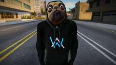 Fortnite - Doggo (Alan Walker v1) для GTA San Andreas