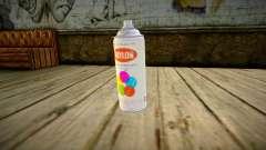 Quality Spray Can для GTA San Andreas