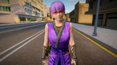 Dead Or Alive 5 - Ayane (Costume 2) 4 для GTA San Andreas