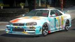 Nissan Skyline R34 G-Tuning S5 для GTA 4