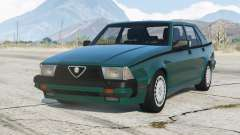 Alfa Romeo Milano Quadrifoglio Verde 1992〡add-on v1.2 для GTA 5