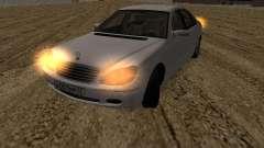 Mercedes-Benz S600 RUS Plates
