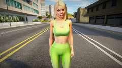 Helena Diva Fitness для GTA San Andreas