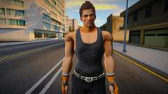 Brad Burns with Tank and Suit Pants 1 для GTA San Andreas