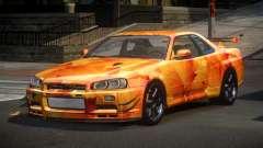 Nissan Skyline R34 PS-I S2 для GTA 4