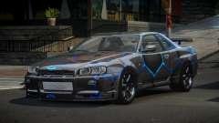 Nissan Skyline R34 PS-I S5 для GTA 4