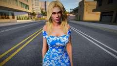 Rachel Casual (good skin) для GTA San Andreas