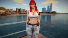 Leona 4 - White 1 для GTA San Andreas
