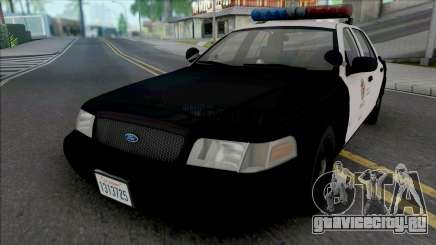 Ford Crown Victoria 2000 CVPI LAPD PMF для GTA San Andreas
