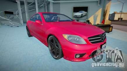Mercedes-Benz CL600 для GTA San Andreas