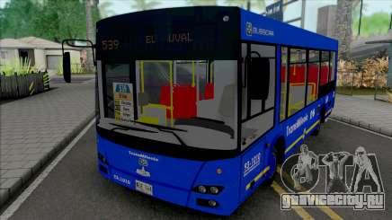 МАЗ-206 Zonal Del SITP для GTA San Andreas