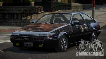 Toyota Corolla AE86 Qz PJ2 для GTA 4