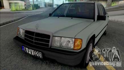 Mercedes-Benz 190E W201 1984 для GTA San Andreas
