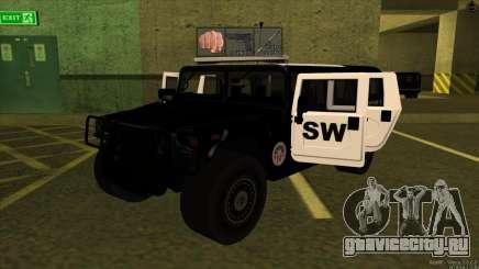 1992 Hummer H1 - LSPD SWAT для GTA San Andreas