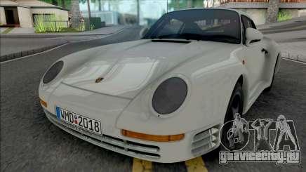 Porsche 959 1987 [HQ] для GTA San Andreas