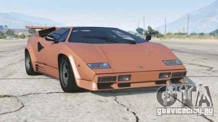 Lamborghini Countach LP5000 S Quattrovalvole 1985〡add-on v1.2 для GTA 5