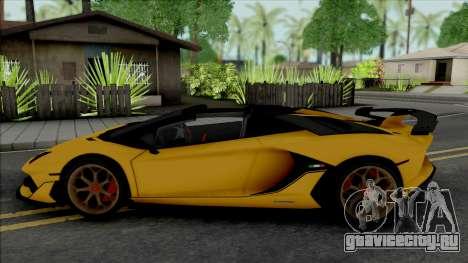 Lamborghini Aventador SVJ Roadster 2020 для GTA San Andreas