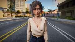 Ada Wong v3 (good skin) для GTA San Andreas