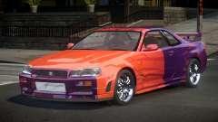 Nissan Skyline R34 J-Style S5 для GTA 4