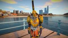 Grunt (Golden Armor) God of War 3 для GTA San Andreas
