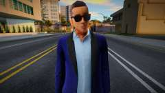 New Wuzimu Casual V2 Woozie Outfit Casino And Re для GTA San Andreas