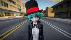 PDFT Hatsune Miku Magician для GTA San Andreas
