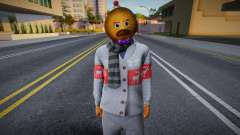 Cesar Vialpando Xmas v2 для GTA San Andreas
