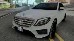 Mercedes-Benz S-Class AMG 2014 Lowpoly для GTA San Andreas