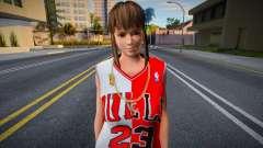 Hitomi Fashion Casual Chicago Bulls Jersey 1 для GTA San Andreas