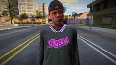 GTA V New Ballas skin для GTA San Andreas