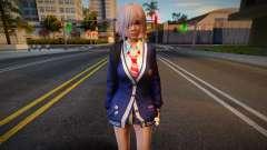DOAXVV Luna - Autumn School Wear 2 для GTA San Andreas