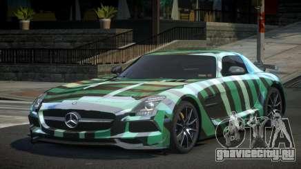 Mercedes-Benz SLS BS S7 для GTA 4