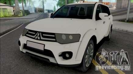 Mitsubishi Pajero Sport (without Plates) для GTA San Andreas