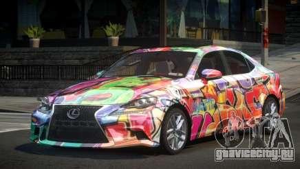 Lexus IS350 GT S3 для GTA 4