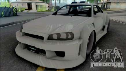 Nissan Skyline GT-R Tuning (NFS Underground 2) для GTA San Andreas