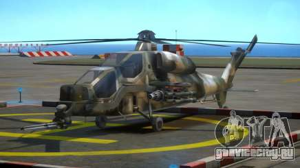 WZ-10 Attack Helicopter для GTA 4