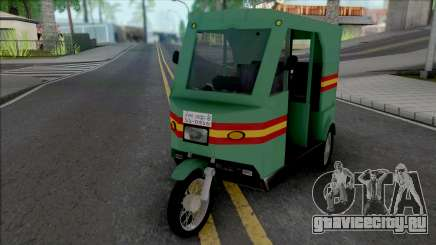 Honda CD80 Mishuk Rickshaw [IVF] для GTA San Andreas