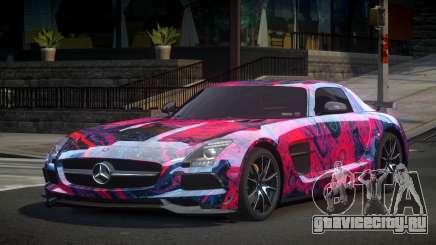 Mercedes-Benz SLS BS S8 для GTA 4