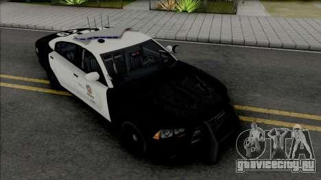 Dodge Charger 2013 LAPD для GTA San Andreas