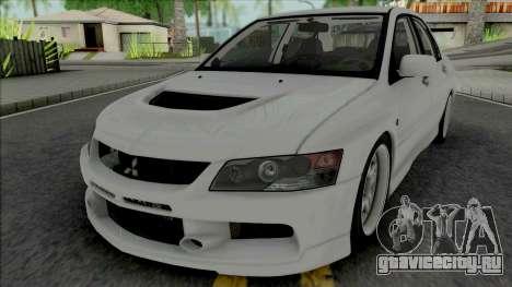 Mitsubishi Lancer Evolution IX MR Edition 2006 для GTA San Andreas