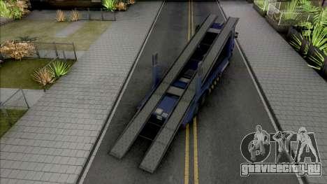Scania R440 Packer Lowpoly для GTA San Andreas