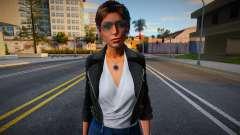 Lara Croft Fashion Casual v4 для GTA San Andreas