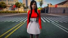 Monki Red Dress 3 для GTA San Andreas