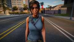 Lara Croft Default для GTA San Andreas