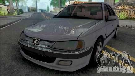 Peugeot Pars TU5 Grey для GTA San Andreas